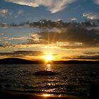 Midsummer sun II by Katariina Lonnakko
