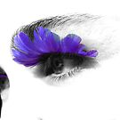 feathery eyes ... punked series by SNAPPYDAVE