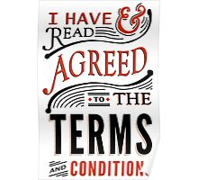 Terms And Conditions Poster