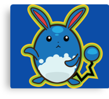 Azumarill Canvas Print