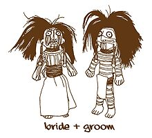 Bride and Groom Voodoo Dolls by holidayswaggv