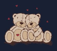 Cute Teddy Bear Valentine Kids Clothes