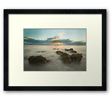 Cottesloe Washout Framed Print