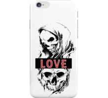 SKULL LOVE iPhone Case/Skin