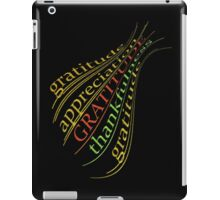 FIVE SURE STEPS TO HAPPINESS iPad Case/Skin
