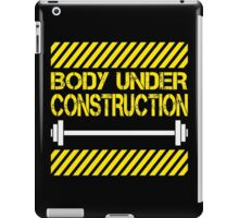 Body under construction iPad Case/Skin
