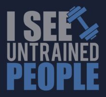 I see untrained people by nektarinchen