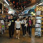 2 Couples in China Town, Singapore by Christian Eccleston