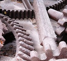1800's Sugar Mill Remains by Marguerite Foxon