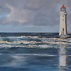 Perch Rock Lighthouse - New Brighton by Mike Paget