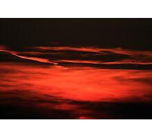 Sunset  Crescendo Photographic Print