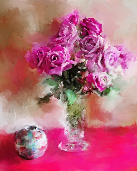 Charles de Gaulle Roses by © Helen Chierego