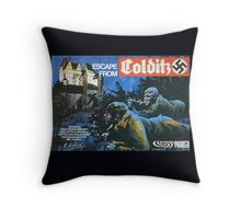 Escape from Colditz 70's board game Throw Pillow