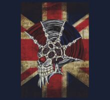 Union Jack Punk Skull T-Shirt