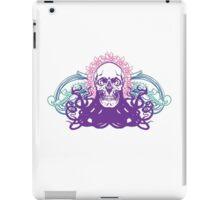 Skull octopus print iPad Case/Skin
