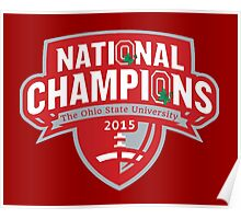 Buckeyes - 2015 Champs Poster