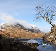 Three Sisters Glencoe. by John Cameron