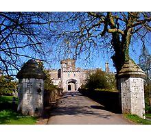 Entrance to Powderham Castle Photographic Print