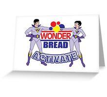 Wonder Bread Twins Greeting Card