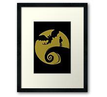 Dragon Nightmare Framed Print