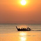 Sunset over Railay Beach by Keiran Lusk