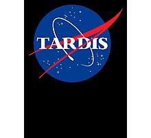 Dr Who Tardis T-Shirt Photographic Print