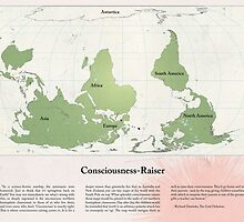 Consciousness-Raiser | South-Up Cartography  by Freddy Angell