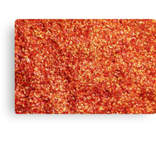 Red Chilli Hot and Spicy Canvas Print
