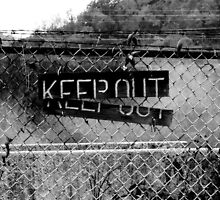 KEEP OUT  It Works Sometimes! by Mark A. Queen