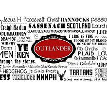 Outlander Mug (Red) by patee333