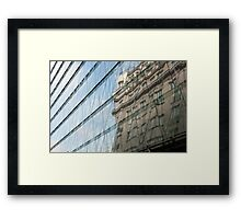 Barcelona Reflections Framed Print