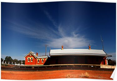 Outback Station Cobar by Mark Ingram Photography