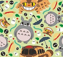 Totoro pattern.03 by SaMtRoNiKa