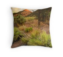 Yet Another Colorful Sky Throw Pillow