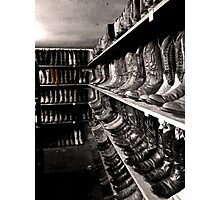Selected Boots Photographic Print