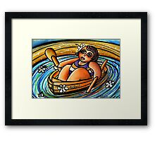 Leilani at Sea Framed Print