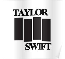 taylor swift black flag logo Poster