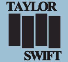 taylor swift black flag logo Kids Clothes