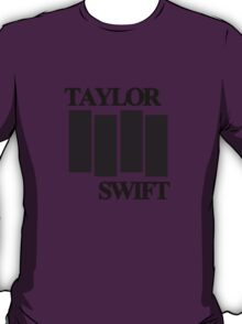 taylor swift black flag logo T-Shirt