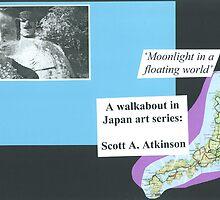 'Moonlight in Japan': a walkabout in Japan art series by FloatingWorld