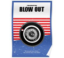 Blow Out - Minimalist Movie Poster Poster