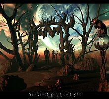 Darkened Path to Light by Dreamscenery