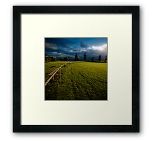Playing fields 1 Framed Print