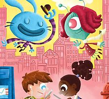 Your Imaginary Friend's Friends by Jeff Crowther