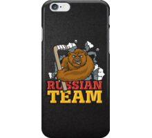 Russian hockey team iPhone Case/Skin