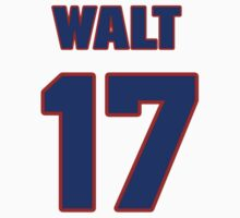 National Hockey player Walt Tkaczuk jersey 17 by imsport