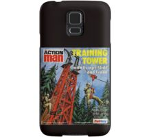 Action Man training tower Samsung Galaxy Case/Skin