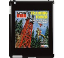 Action Man training tower iPad Case/Skin