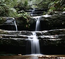 Terrace Falls, Blue Mountains by Erland Howden