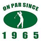 1965 Golfer's Birthday by thepixelgarden